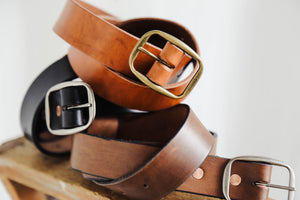 Whiskey-Dyed Belt