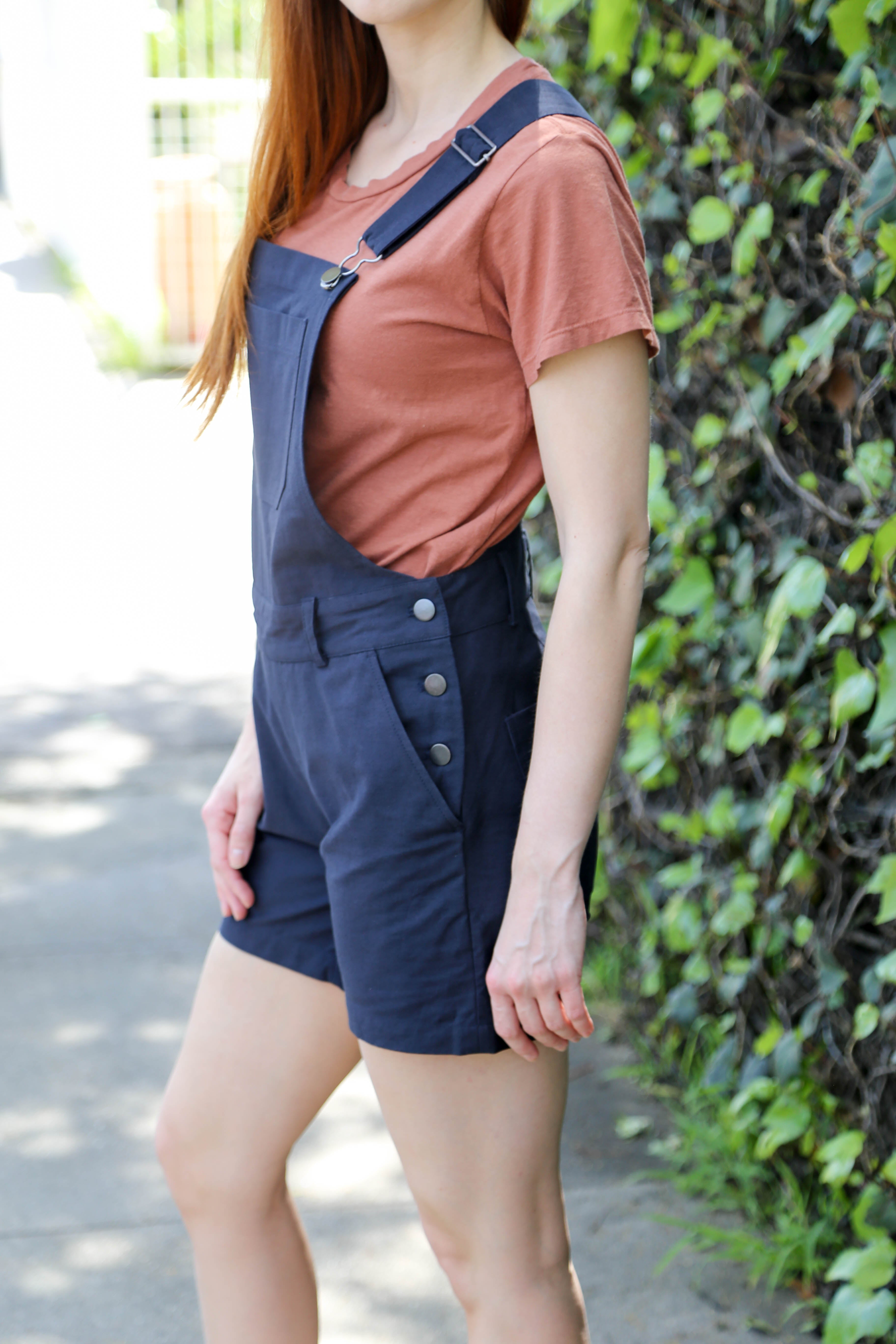 Morse Overalls in Navy