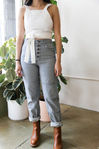 One-Tone Jeans in Stripe