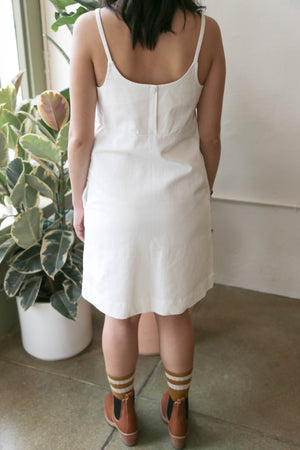 Charlotte Mini Dress in White
