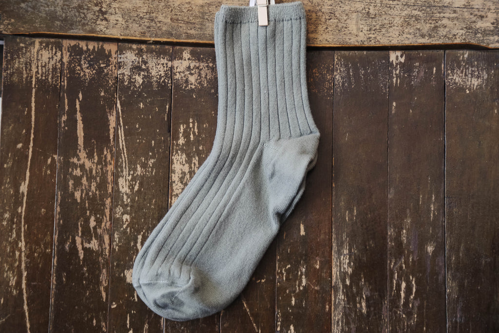 Crew Sock in Sage