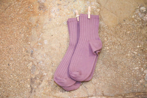 Crew Sock in Wisteria