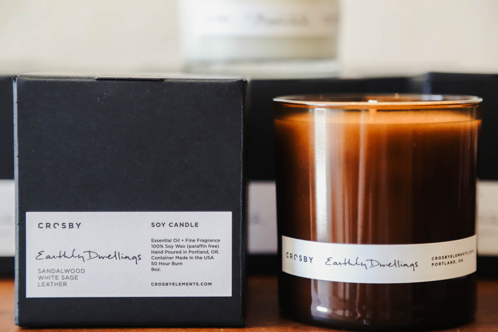 Soy Candle - Earthly Dwellings