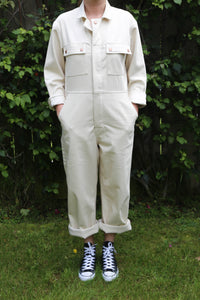 Boilersuit in Ecru