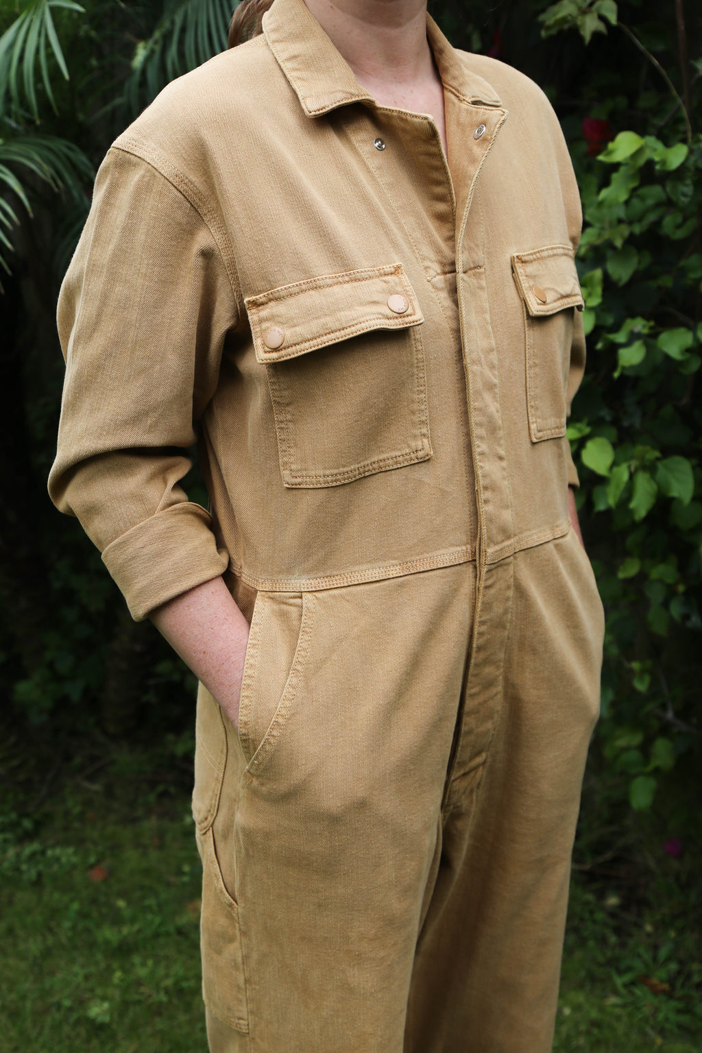 Boilersuit in Spice