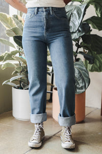 Japanese Selvedge Slim Leg in Vintage Wash