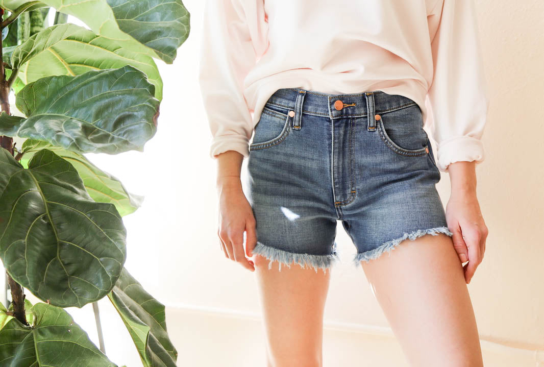 Wrangler Denim Cut-Offs