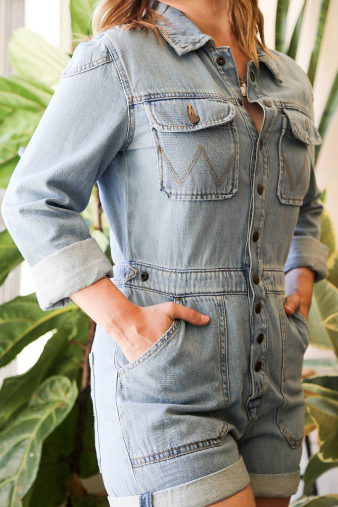 Wrangler Jumpsuit in Crosby Wash