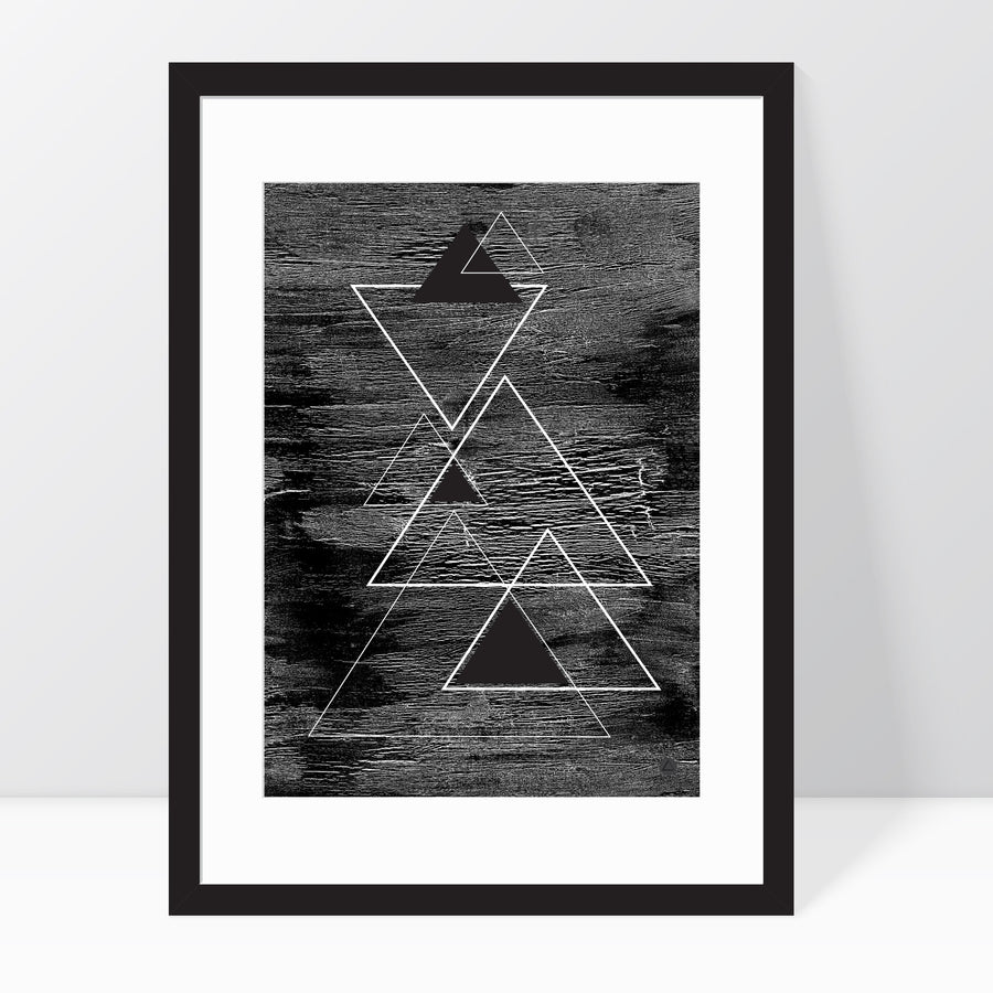 Midnight Peak Print | Lynka.Ink Art