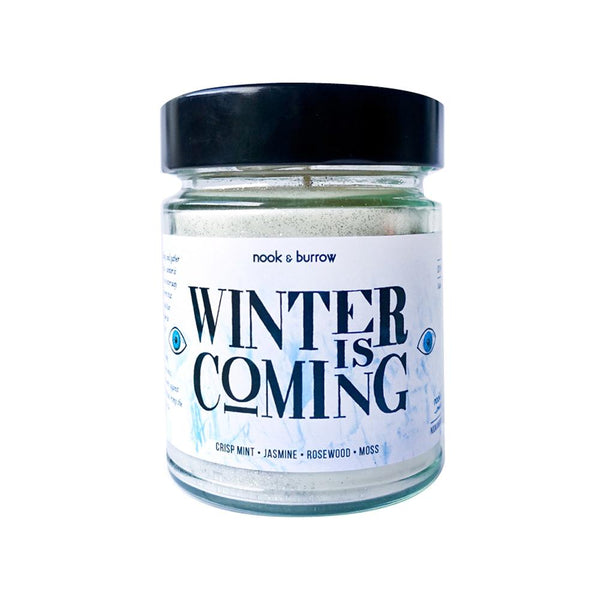 Winter is Coming | candle