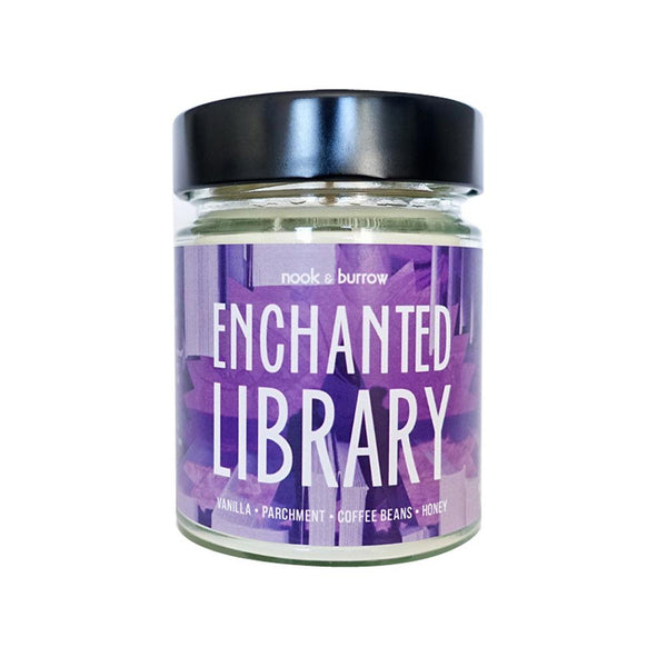 Enchanted Library | candle
