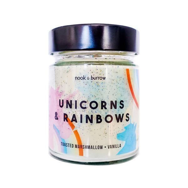 Unicorns & Rainbows | candle