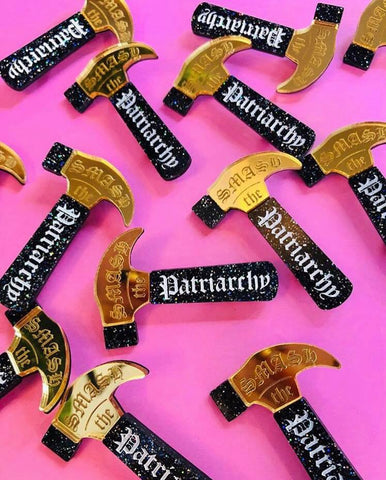 Limited Edition Smash The Patriarchy Pin