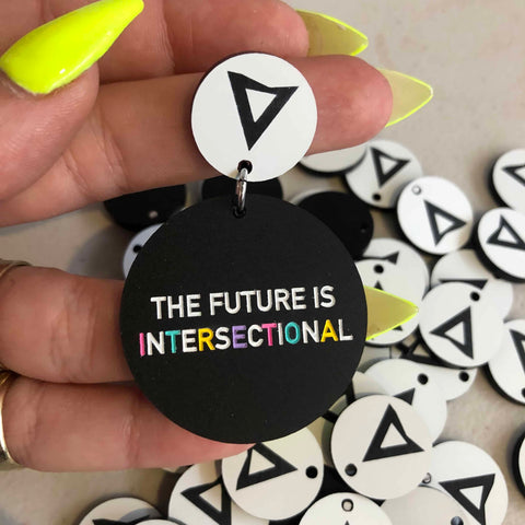 The Future is Intersectional Earrings
