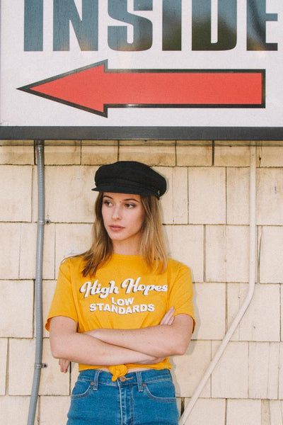 High Hopes Low Standards Tee
