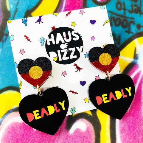 Limited Edition OG Deadly Heart Earrings