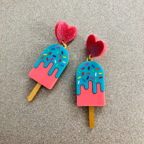Paddle Pop Earrings