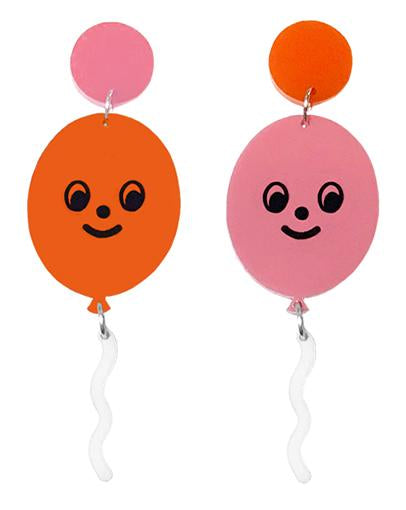 Happy Balloon Earrings