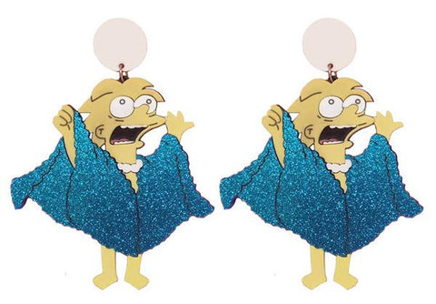 Lisa Lizard Queen Earrings