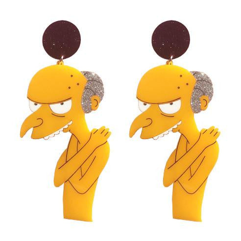 Mr. Burns Earrings