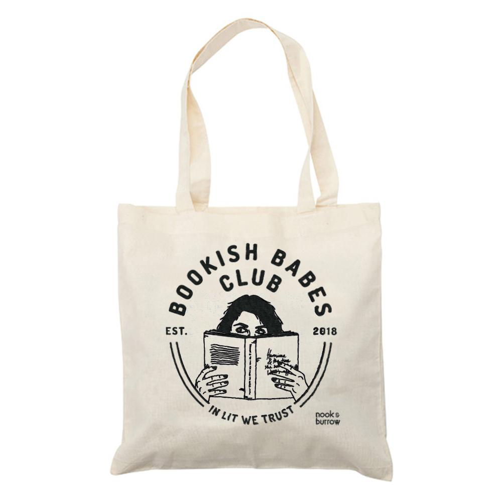 Bookish Babes Club | Tote Bag