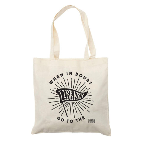 When In Doubt | tote bag