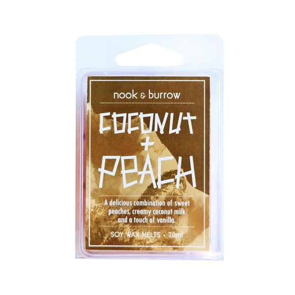 Coconut & Peach | wax melts