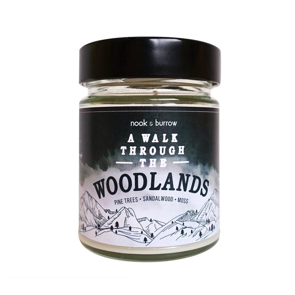 A Walk Through the Woodlands | candle