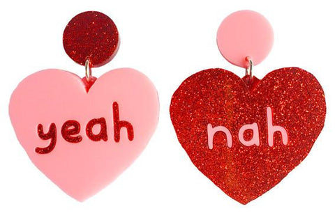 Yeah Nah Earrings