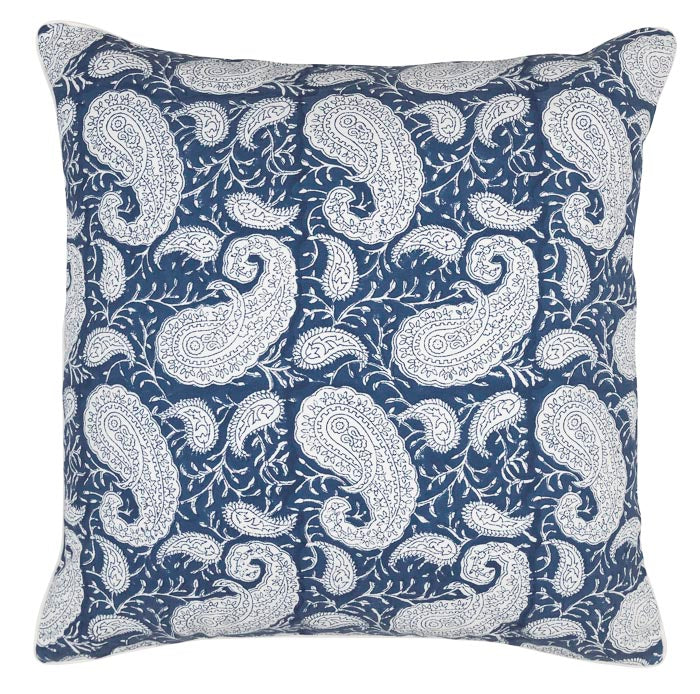 Cushion Cover - Big Paisley® - Navy Blue