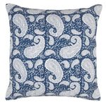 Big Paisley® Cushion in Navy Blue