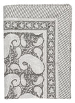 Tablecloth with Big Paisley® print in Dark Grey
