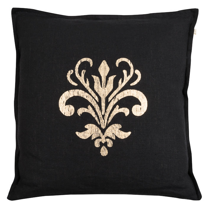 Cushion Cover - Chamois Lily - Black Gold