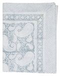 Tablecloth with Big Paisley® print in Cashmere Blue