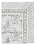 Tablecloth with Big Paisley® print in Light Grey
