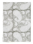 Big Paisley® kitchen towels in Light Grey