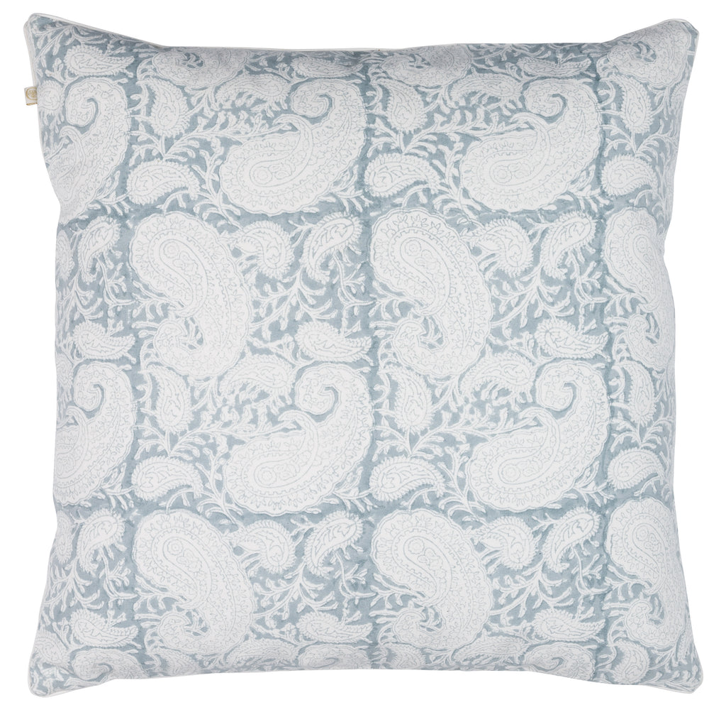 Cushion Cover - Big Paisley® - Cashmere Blue