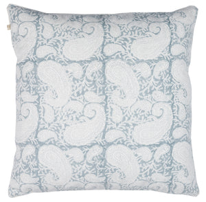 Big Paisley® Cushion in Cashmere Blue