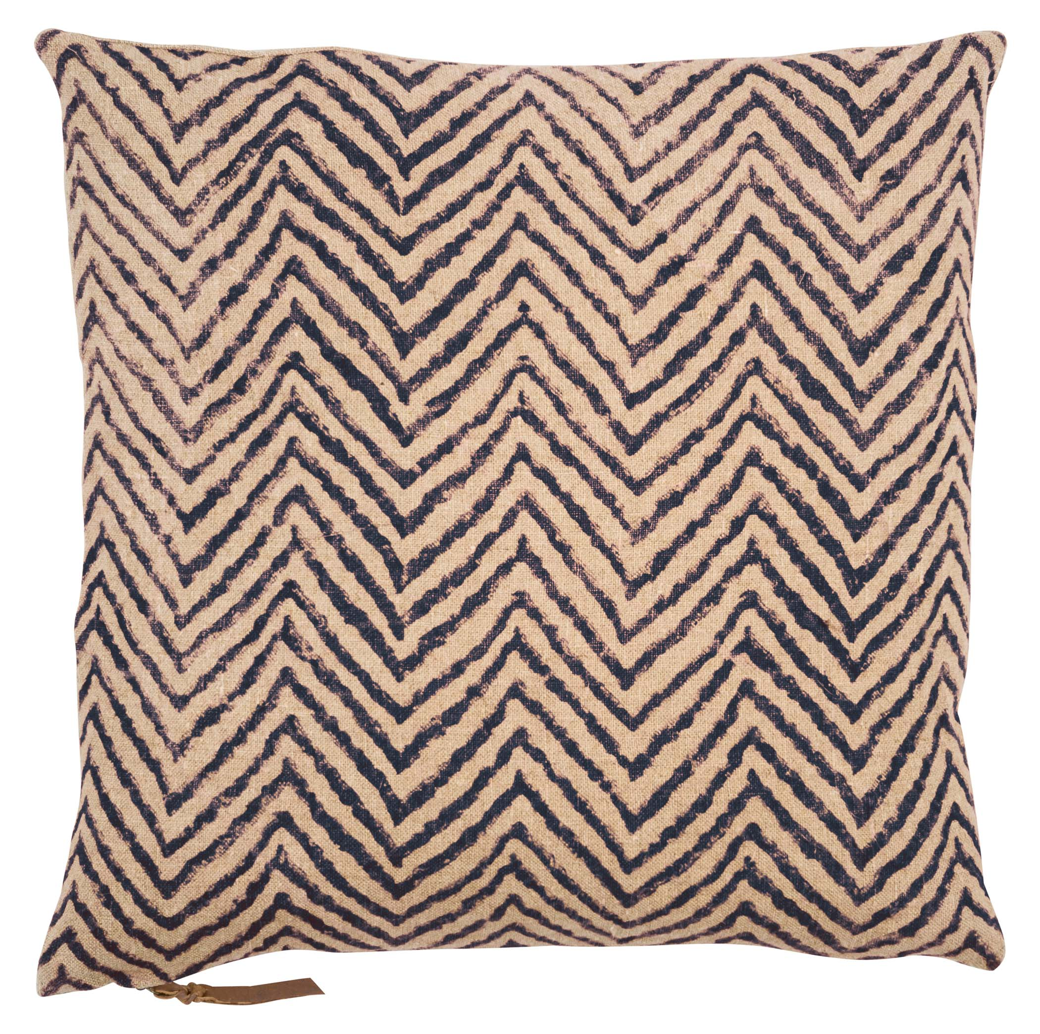 Cushion Cover - Chevron - Dark Blue