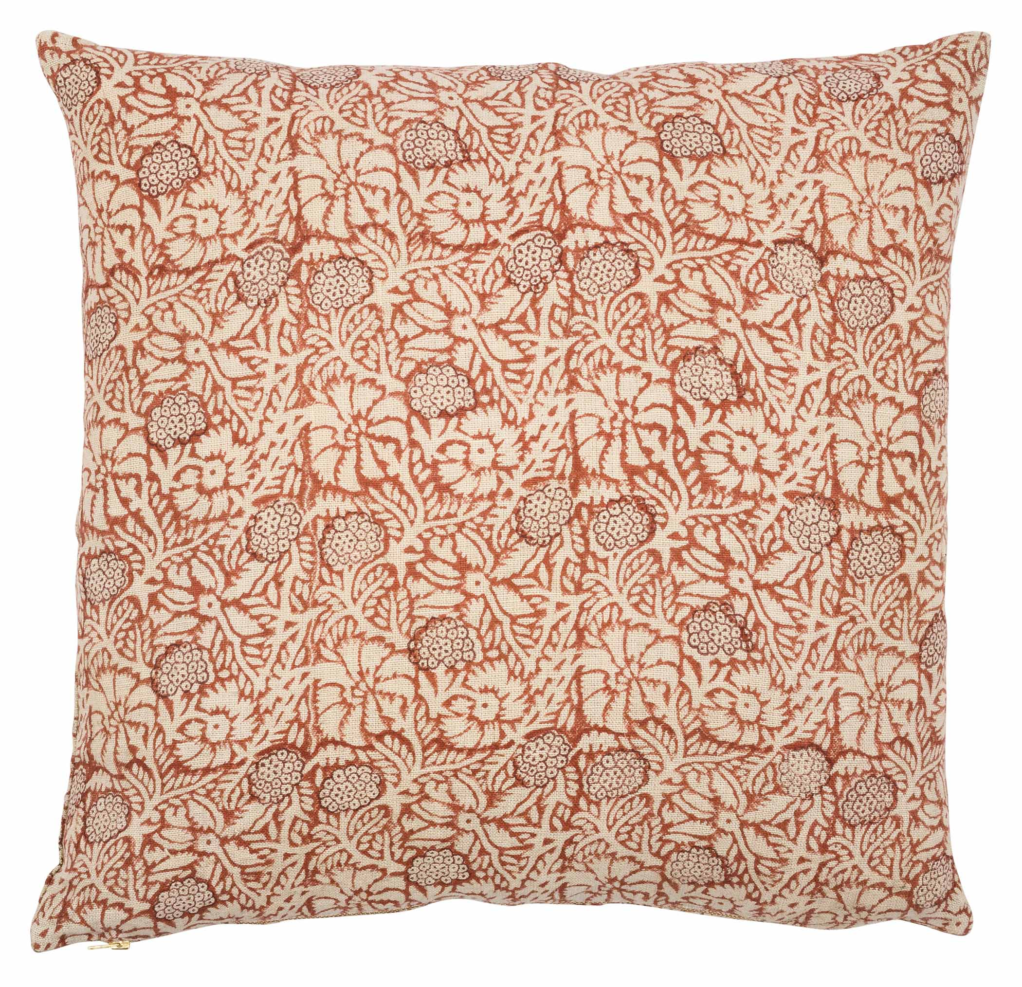 Cushion Cover - Meadow - Spicy Red