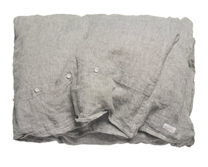 Duvet Cover - Chambray - Grey