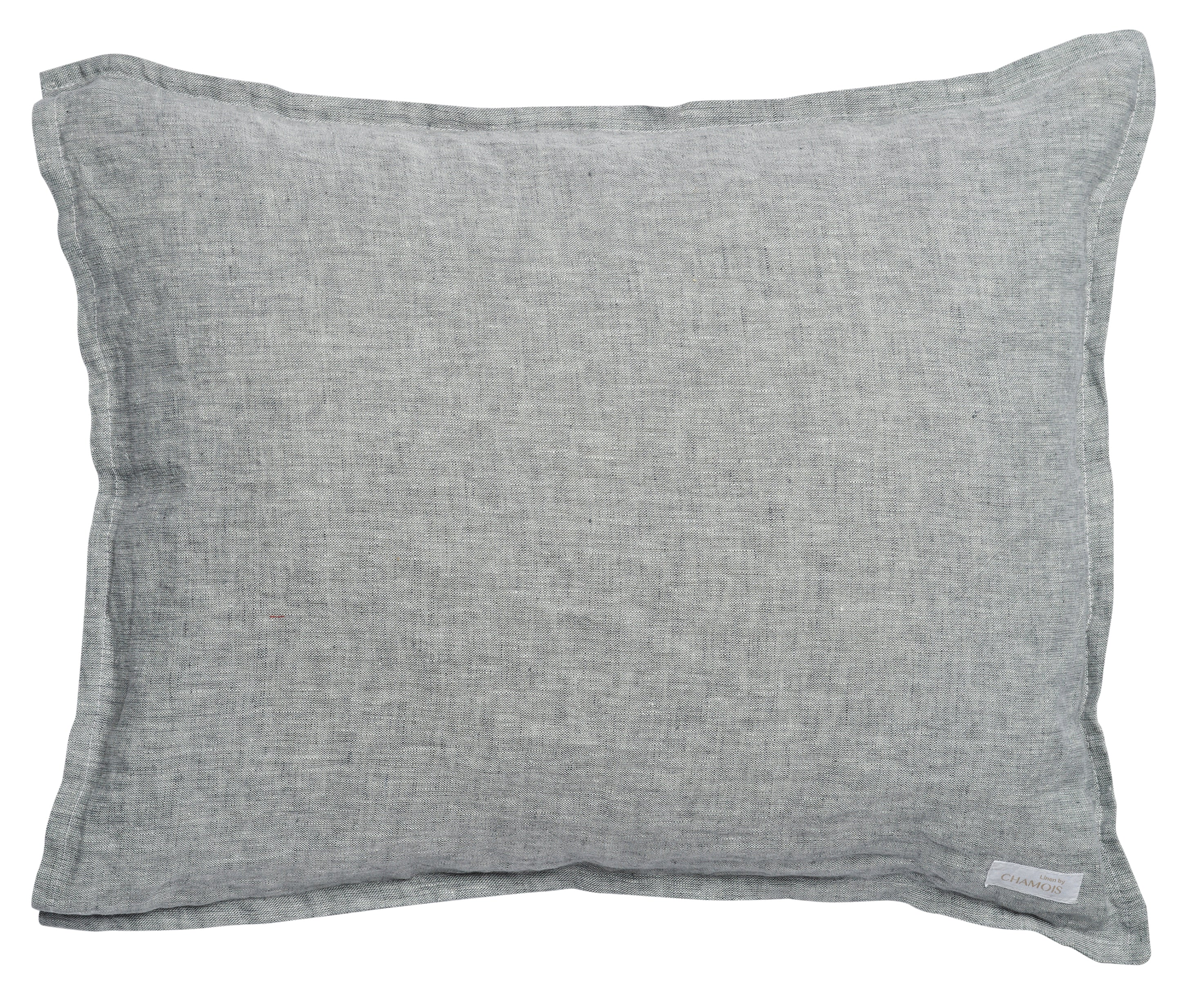 Pillowcase - Chambray - Grey