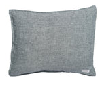 Linen Pillowcase in Navy Blue Chambray
