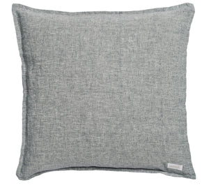 Large Cushion Cover - Chambray - Navy Blue