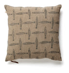 Cushion Cover - Fish - Dark Blue