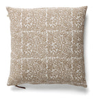 Linen Cushion with Jugend print in White