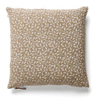 Cushion Cover - Leaf - White