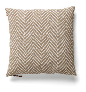 Cushion Cover - Chevron - White