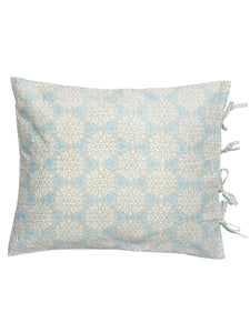 Pillowcases with City Palace print in Blue