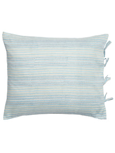 Pillowcases with Stripe print in Blue
